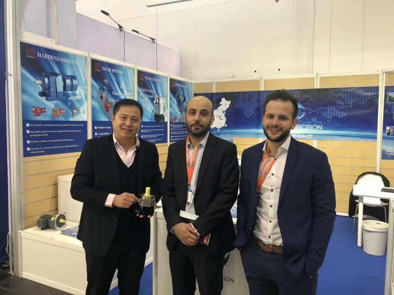 正名行星减速机亮相2019年德国汉诺威工业博览会