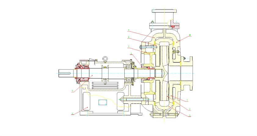 ZGBP渣浆泵结构图