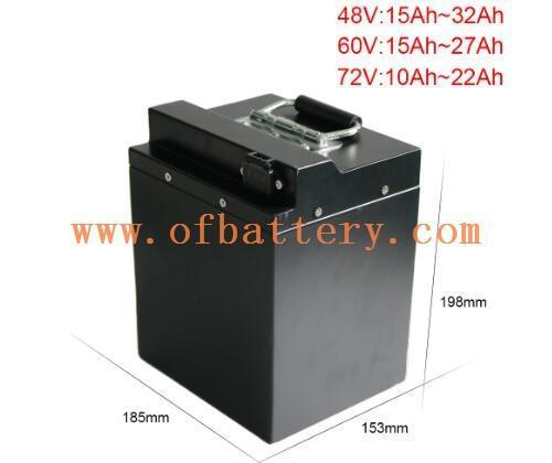60V20Ah electric car lithium battery