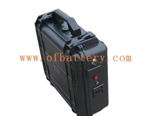 Portable suitcase battery 12V100Ah