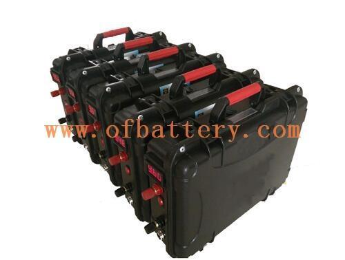 Portable energy storage battery