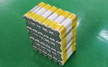 7 strings of 18650 semi-finished batteries