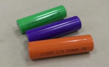 LC18650 lithium battery cell
