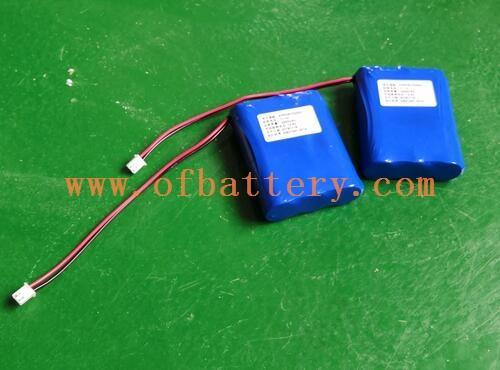 this is 11.1V18650 lithium battery pack