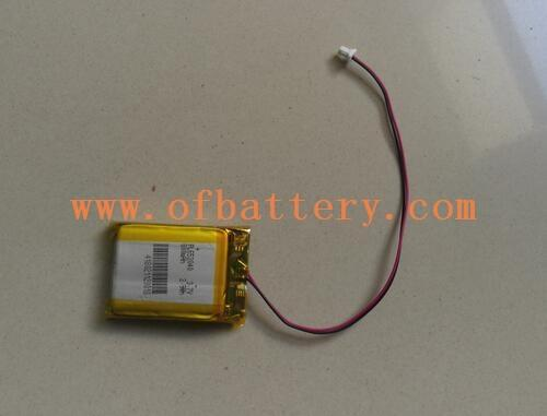 pl653040 Polymer lithium battery pack