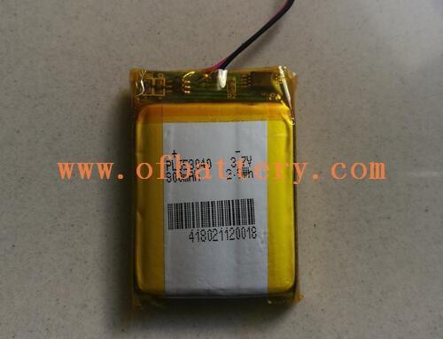 GPS navigator 603040-800mAh polymer battery