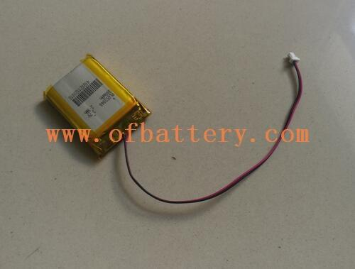 Polymer battery 653040-800mah is coming