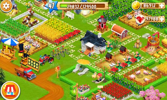直销农场游戏开发