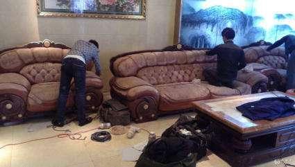 石家庄皮革沙发清洗