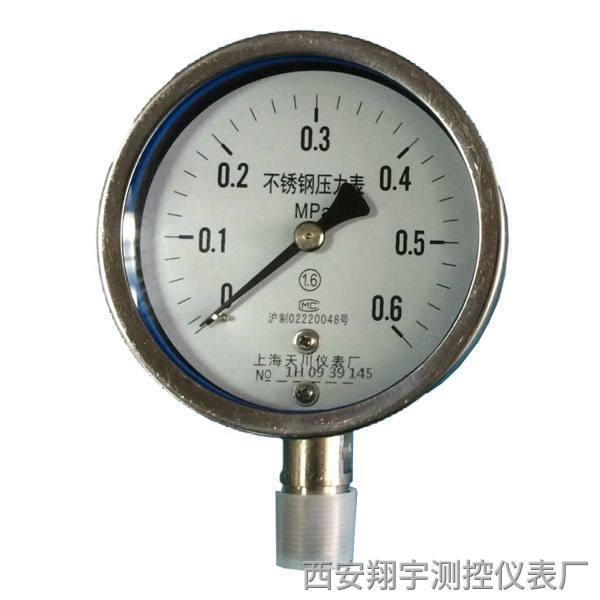 补水泵压力表指针摆动