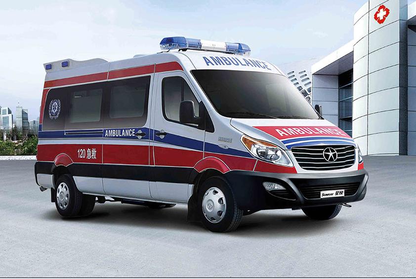 江淮监护型救护车