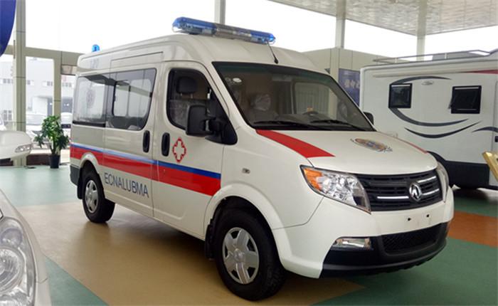 东风御风短轴运送型救护车