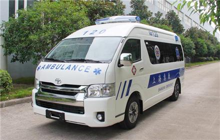豐田大海獅重癥監護型救護車