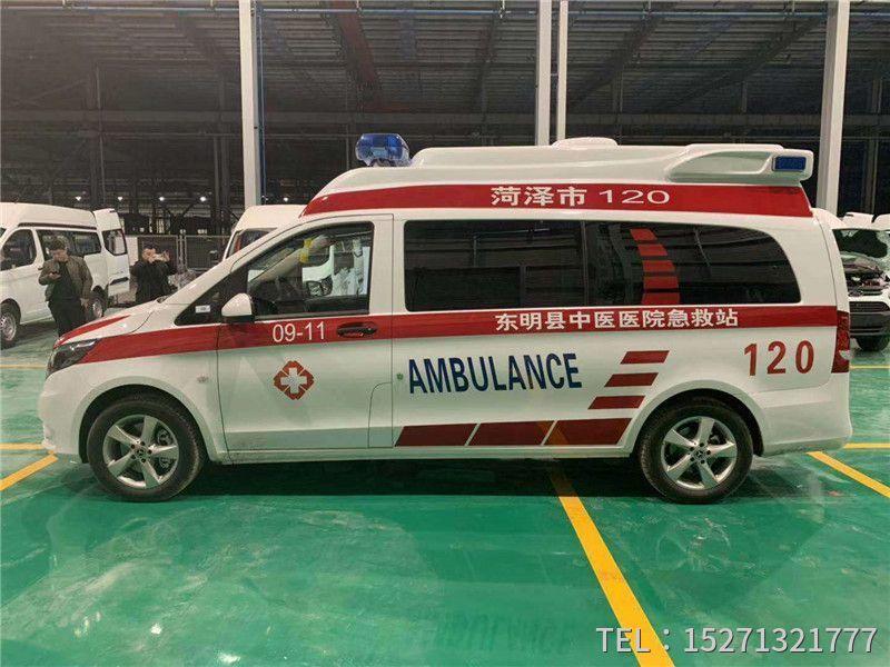 奔驰威霆救护车销售15271321777