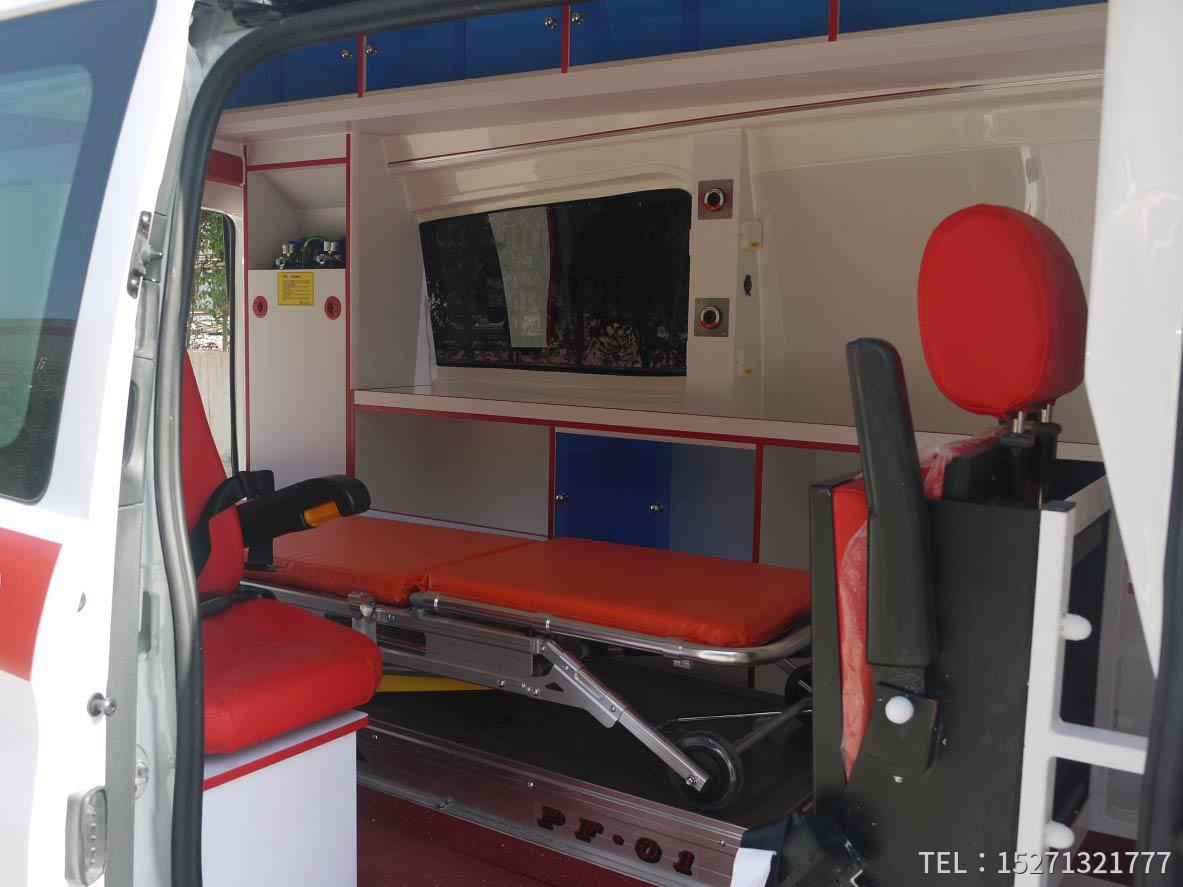 奔驰新威霆监护型救护车