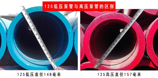 低压泵管与高压泵管的区别