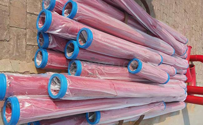 多种长度的混凝土泵管