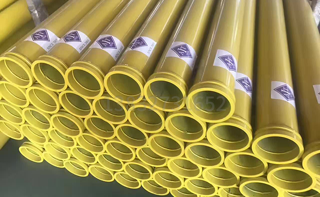 混凝土泵管的使用寿命