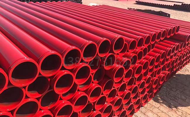 混凝土地泵管的长度尺寸是多少