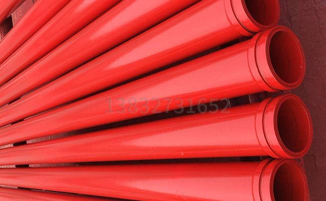 地泵输送泵管的图片