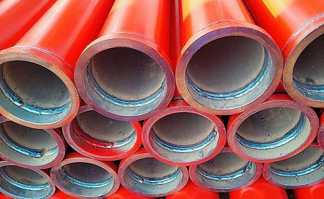 地泵泵管的连接方法