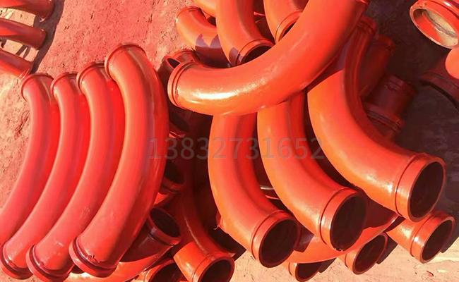 混凝土泵管中有几种弯头