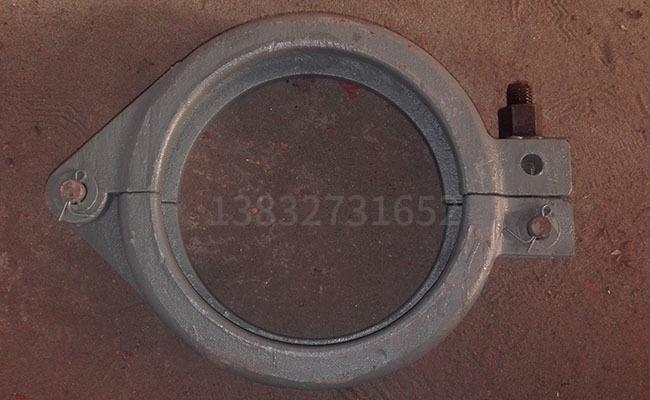 DN180地泵泵管管卡