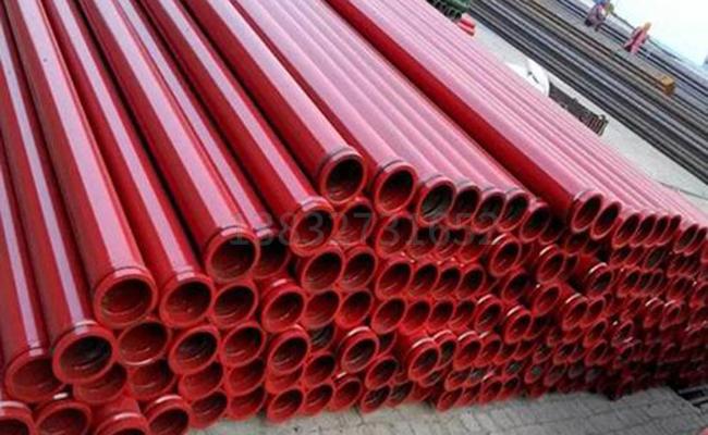 375锰石油钻杆泵管