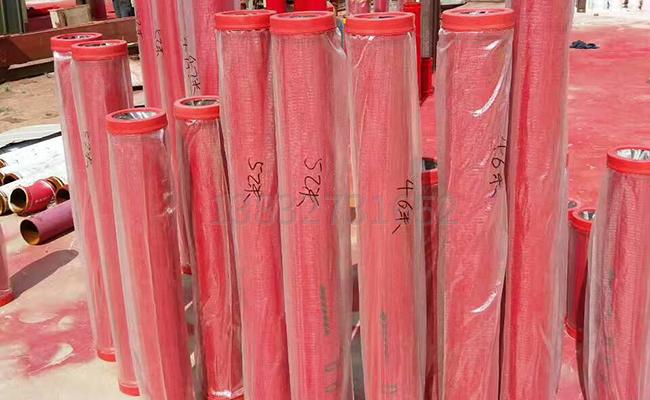 多种长度的125耐磨泵管
