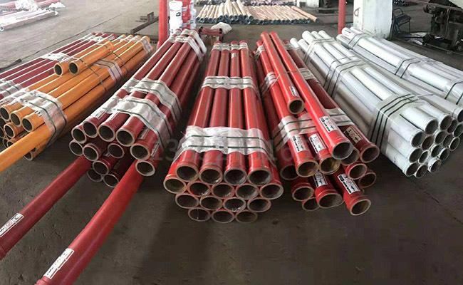 125泵车臂架管