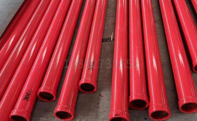 125泵车耐磨泵管