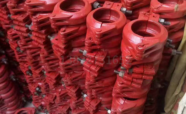 DN80细石泵管卡