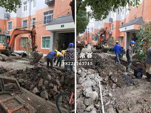上海排水管道开挖改造