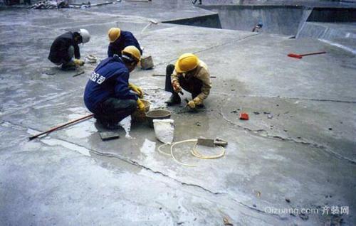 松江厂房楼顶防水施工