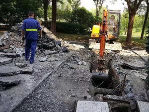 上海市政管道开挖改造