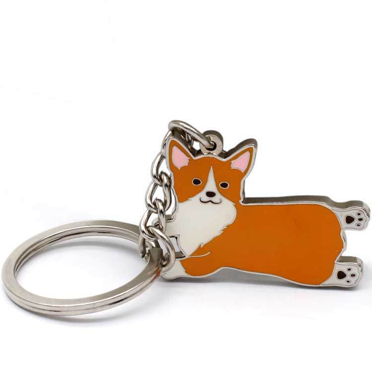 Promotion Gifts Custom Metal 3D Women Cute Keychain from manufacturer