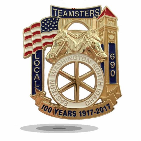 Collectible Custom Masonic Badge Zinc Alloy Copper Dia Cast 3D Available
