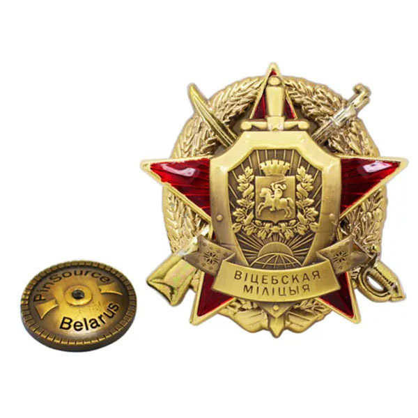 Wholesale Custom Metal Enamel Ussr Soviet Russian Pin Badge