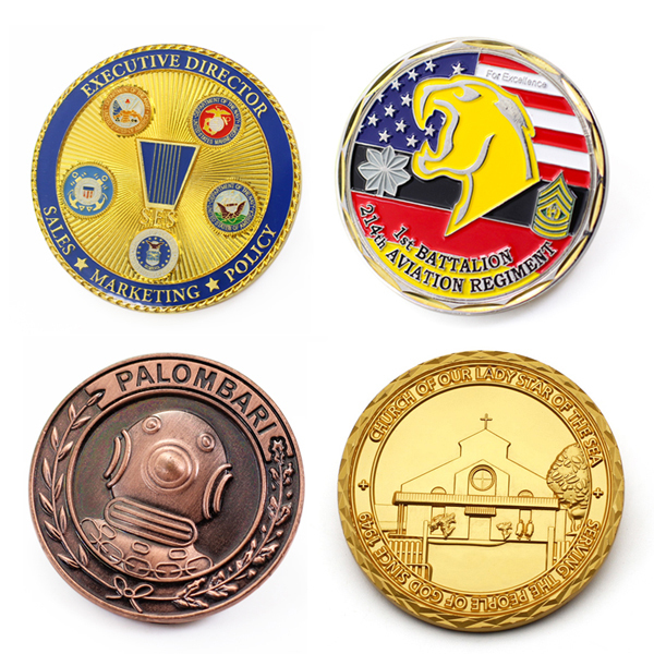 Promotional Custom Metal Enamel Sport Medal Coin