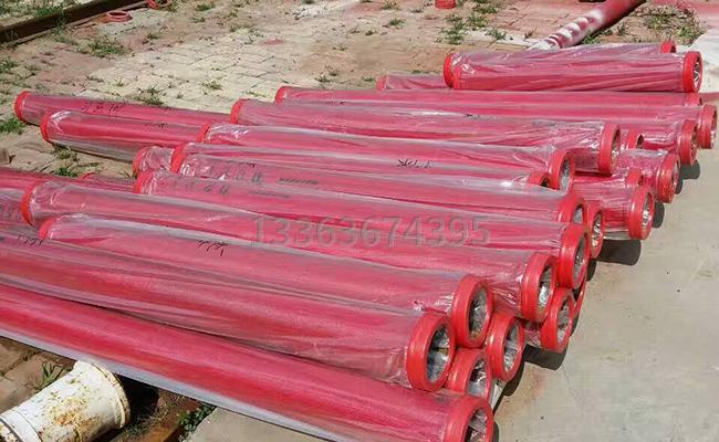 泵車臂架泵管多重一根