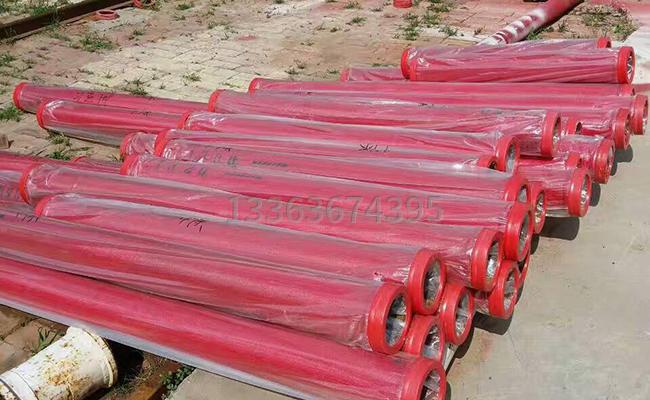 不同長度的耐磨泵管
