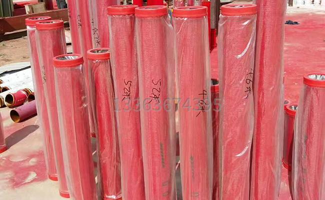 多種長度的泵車泵管