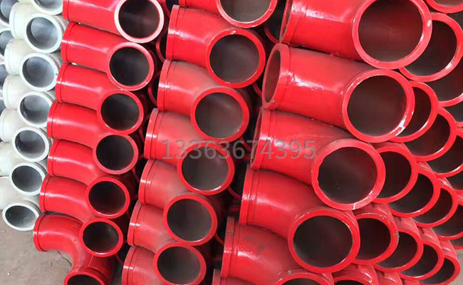 鑄鋼材質的泵車彎管