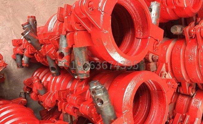 低壓125混凝土泵管管卡的圖片