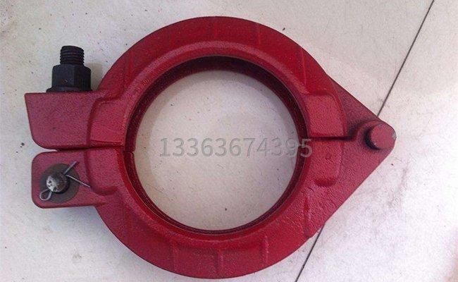 高壓125混凝土泵管管卡的圖片