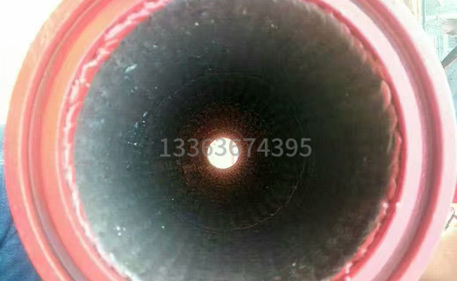 通鋪耐磨焊的泵車變徑管