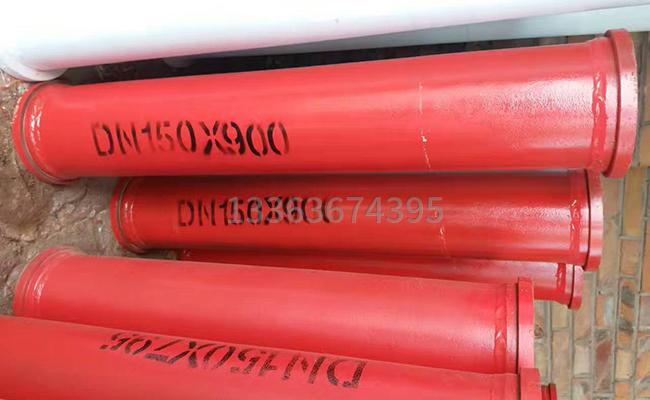 150泵车泵管