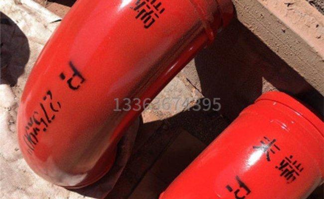 雙層合金的泵車彎管