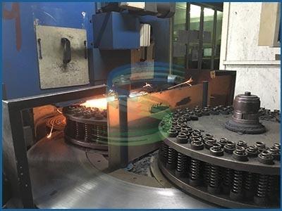 数控双面弹簧磨口机-佛山旭龙弹簧厂
