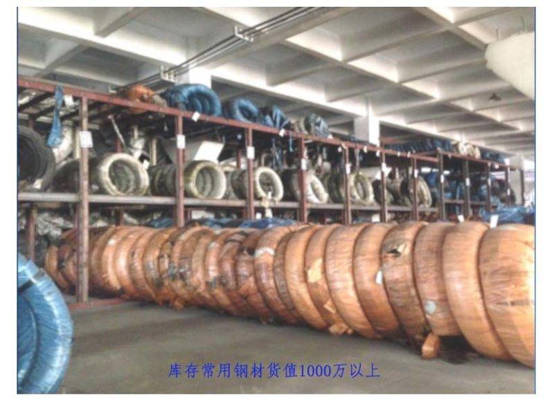 旭龙弹簧厂线成型弹簧材料库存充足